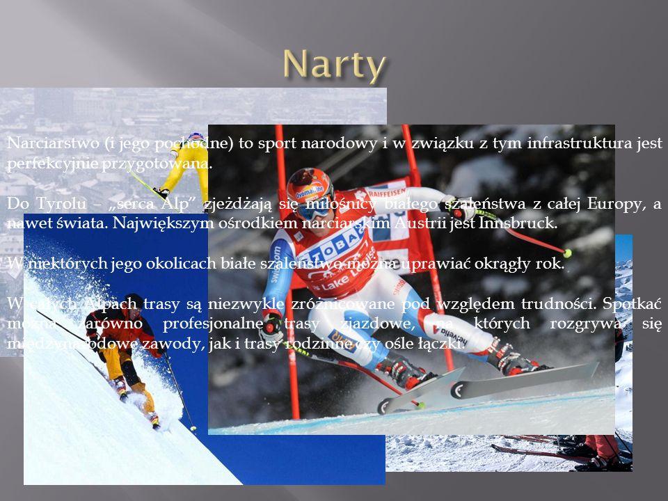 Narciarstwo (i jego pochodne) to sport narodowy i w związku z tym infrastruktura jest perfekcyjnie przygotowana.