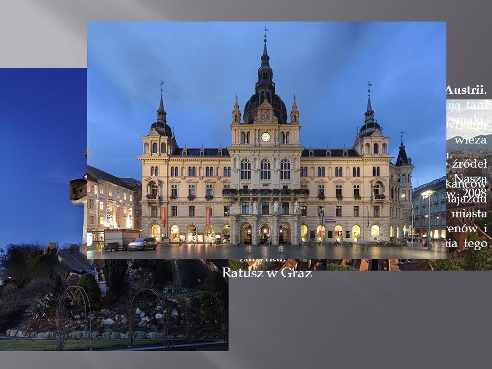 Graz to stolica Styrii, drugiego pod względem wielkości kraju związkowego Austrii.