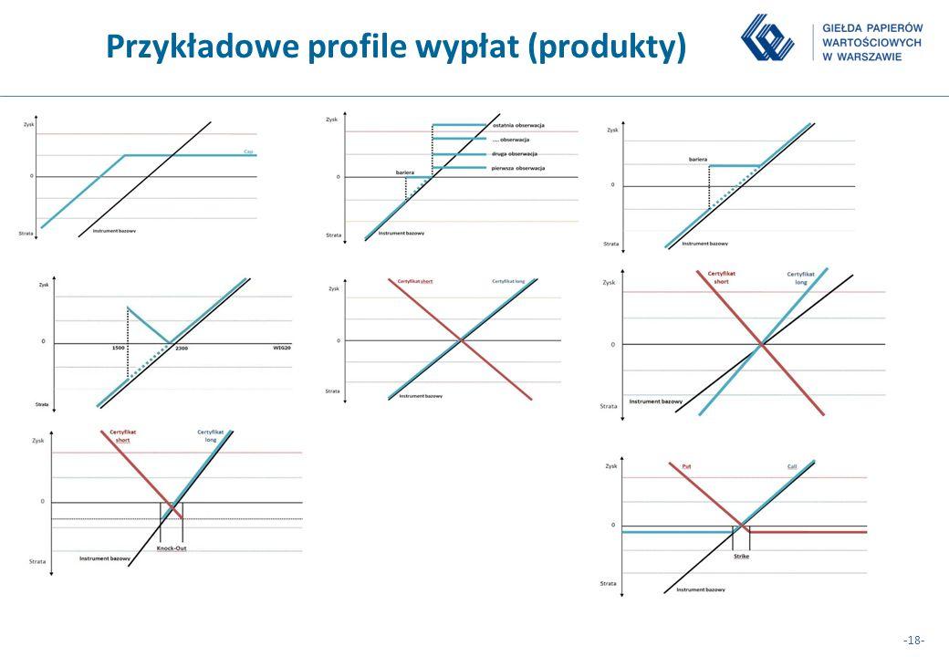 -18- Przykładowe profile wypłat (produkty)