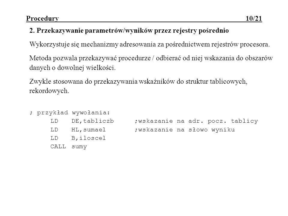 Procedury 10/21 2.