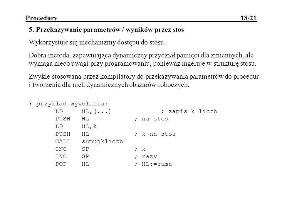 Procedury 18/21 5.