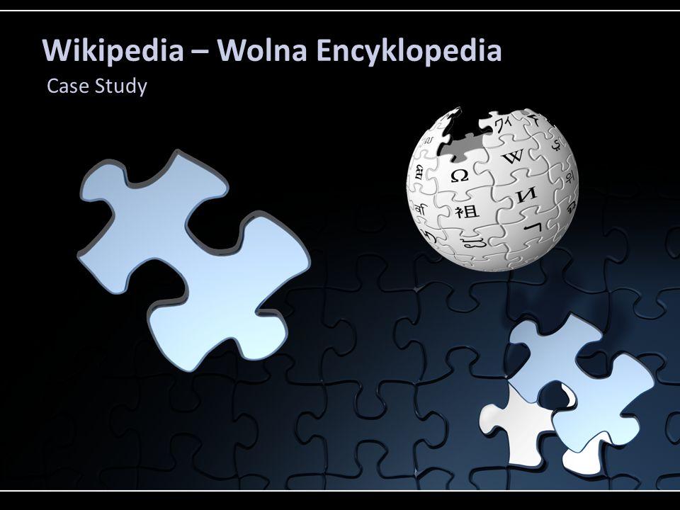Wikipedia – Wolna Encyklopedia Case Study