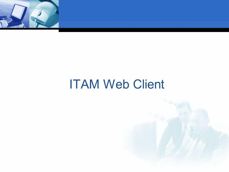 ITAM Web Client