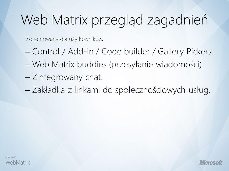 Czym jest WebMatrix? Urządź Publikuj Stwórz