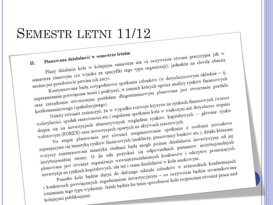 S EMESTR LETNI 11/12