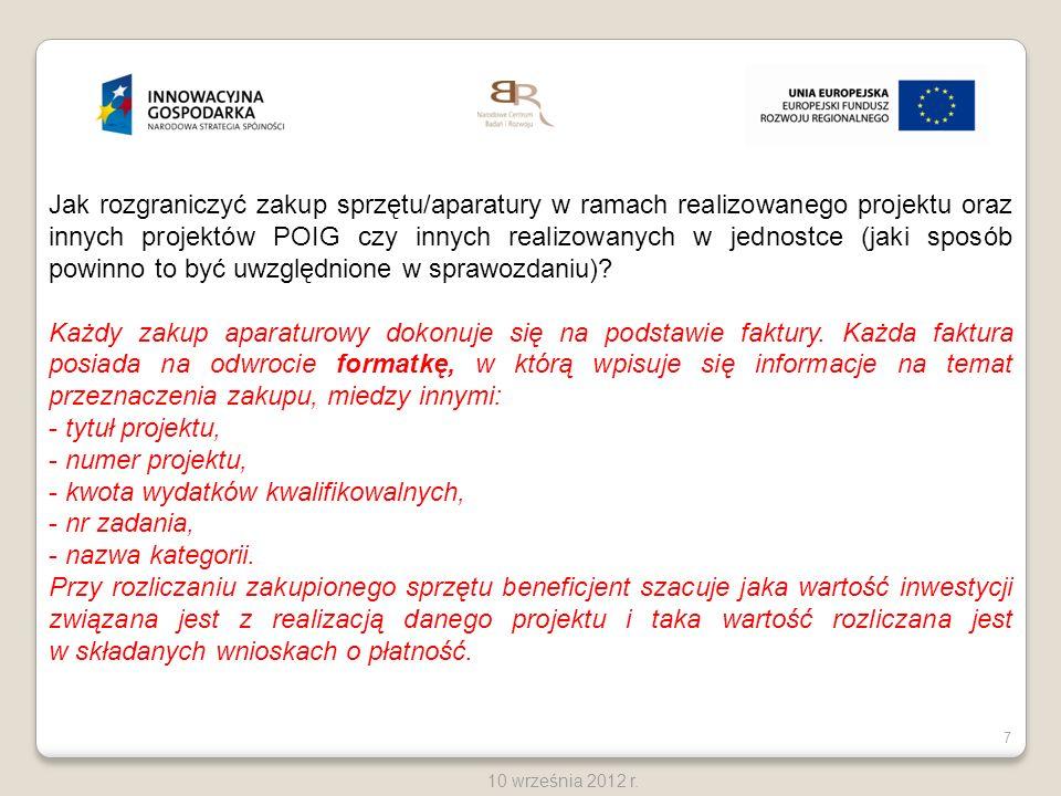 38 10 września 2012 r.Cechy prawidłowo przygotowanego aneksu do umowy.