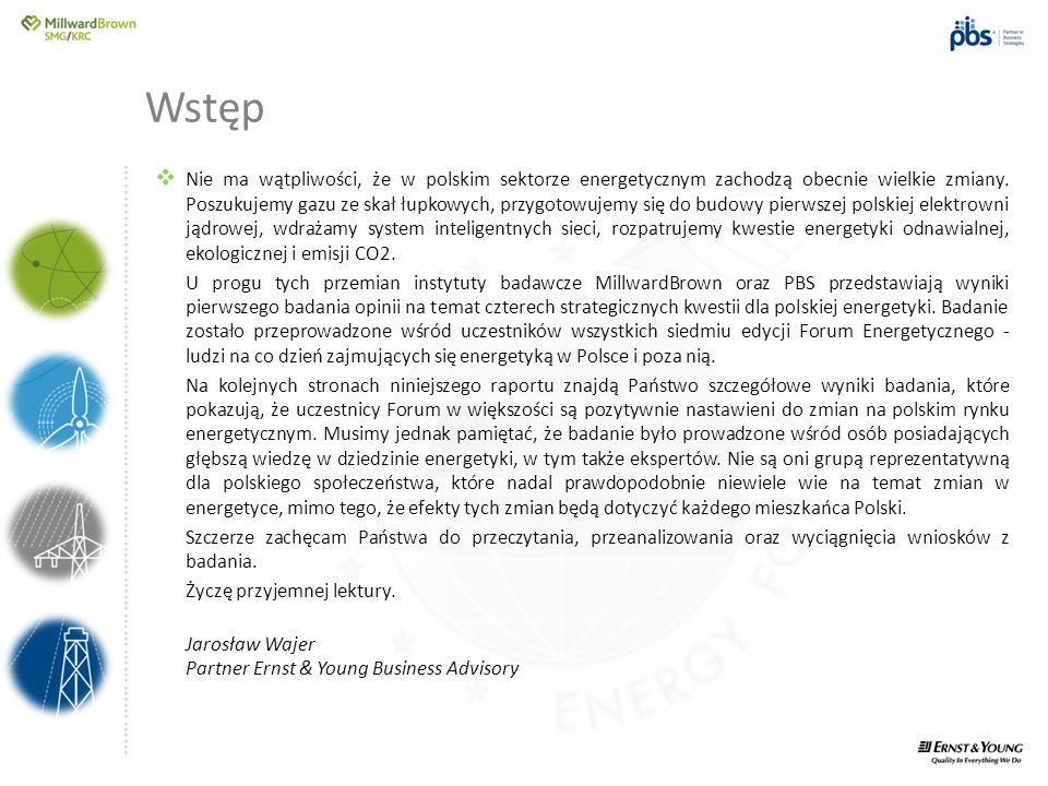 ….............……………………………………………………………………… Wstęp Nie ma wątpliwości, że w polskim sektorze energetycznym zachodzą obecnie wielkie zmiany. Poszukujemy g