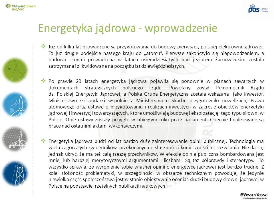 ….............……………………………………………………………………… Administracja rządowa oraz inwestor prowadzą działania mające na celu przekazanie społeczeństwu wiedzy i informacji niezbędnych do zajęcia świadomego stanowiska w zakresie energetyki jądrowej.