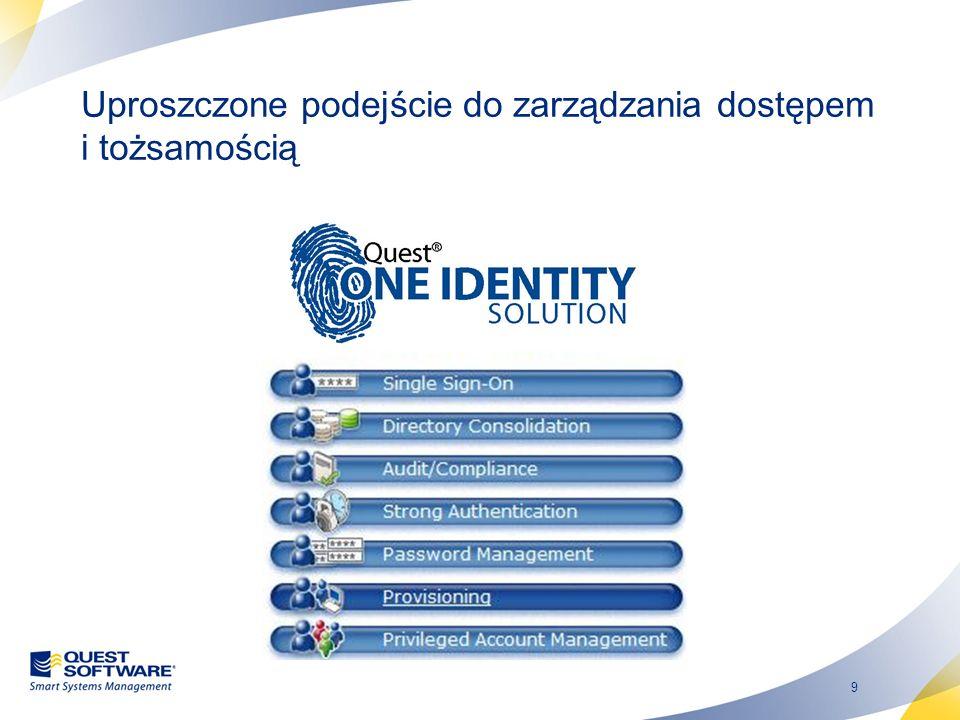 9 Uproszczone podejście do zarządzania dostępem i tożsamością