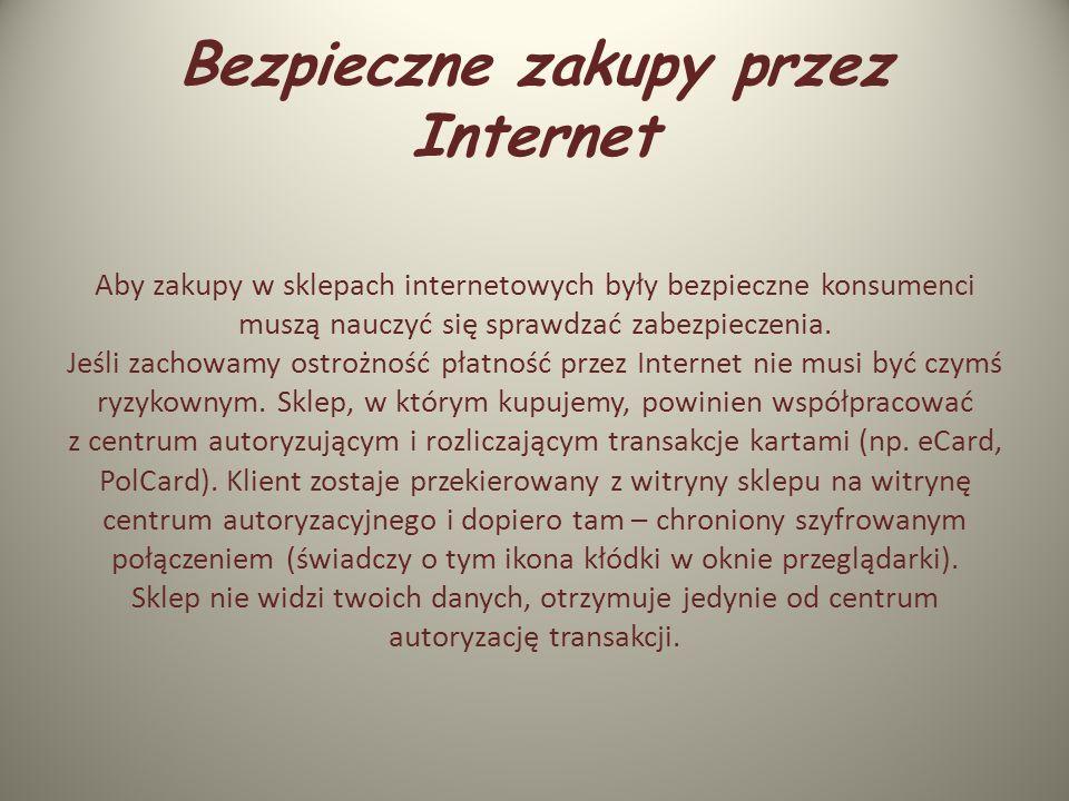 Serwisy społecznościowe Surfując po Internecie, nie jesteśmy anonimowi. Brak dbałości ludzi o własną prywatność jest niepokojącym zjawiskiem. Pamiętaj