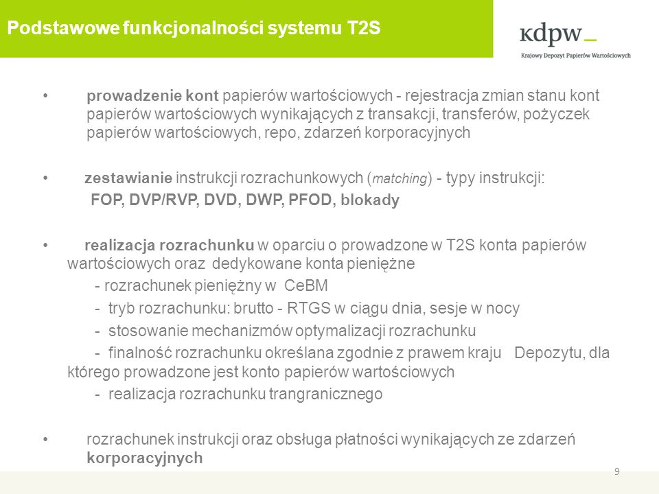3. Insourcing kont na T2S 10