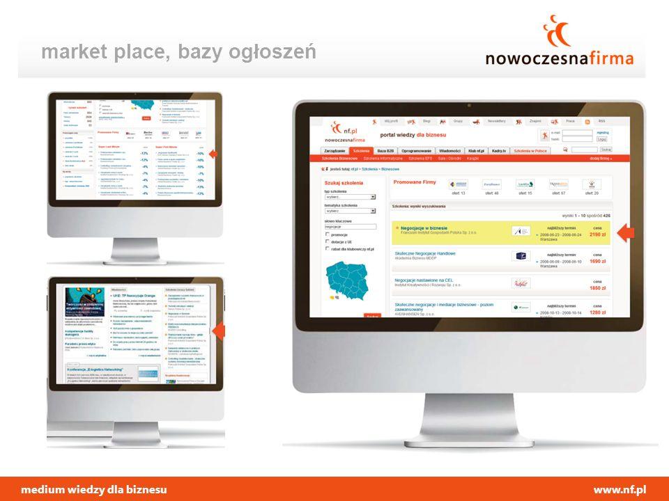 medium wiedzy dla biznesuwww.nf.pl market place, bazy ogłoszeń