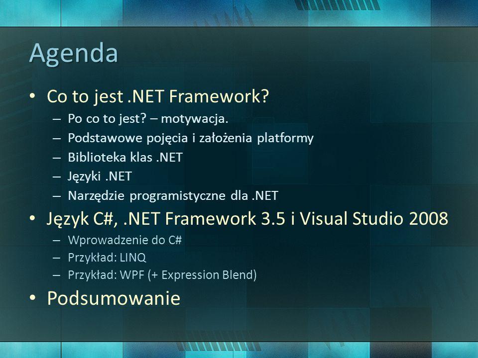 Co to jest.NET Framework.