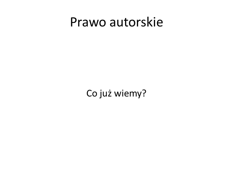 Utwory pracownicze Art.13.