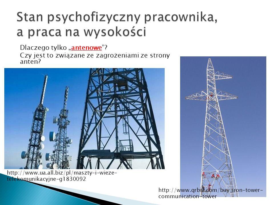 Dlaczego tylko antenowe? Czy jest to związane ze zagrożeniami ze strony anten? http://www.qrbiz.com/buy_iron-tower- communication-tower http://www.ua.