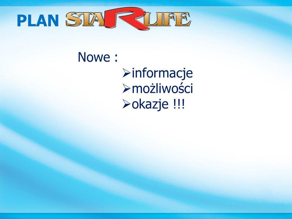 PLAN STARLIFE – profile zakupów – PV252 PV474 PV Zamów za min.