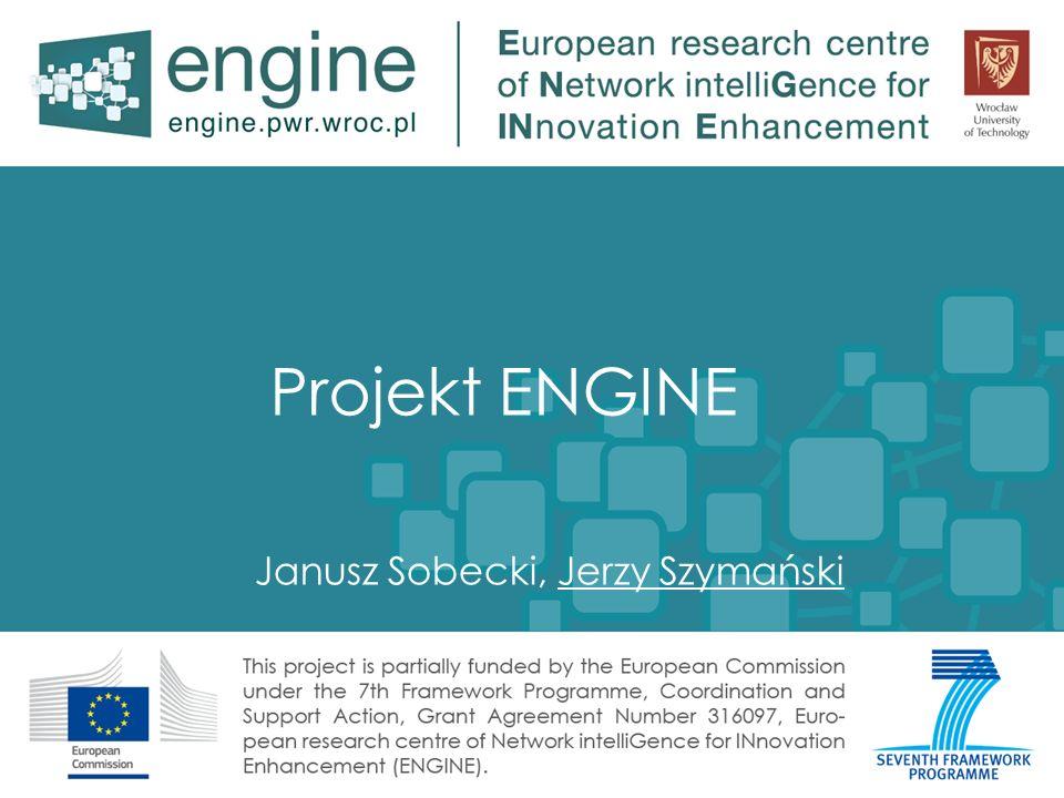 Projekt ENGINE Janusz Sobecki, Jerzy Szymański