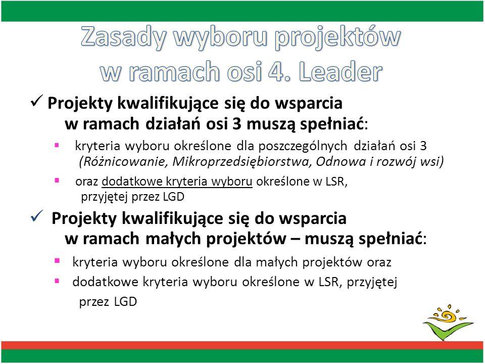 DOŚWIADCZENIE: Premiowane będą projekty wnioskodawców, którzy nie realizowali jeszcze podobnych projektów: 0 pkt.