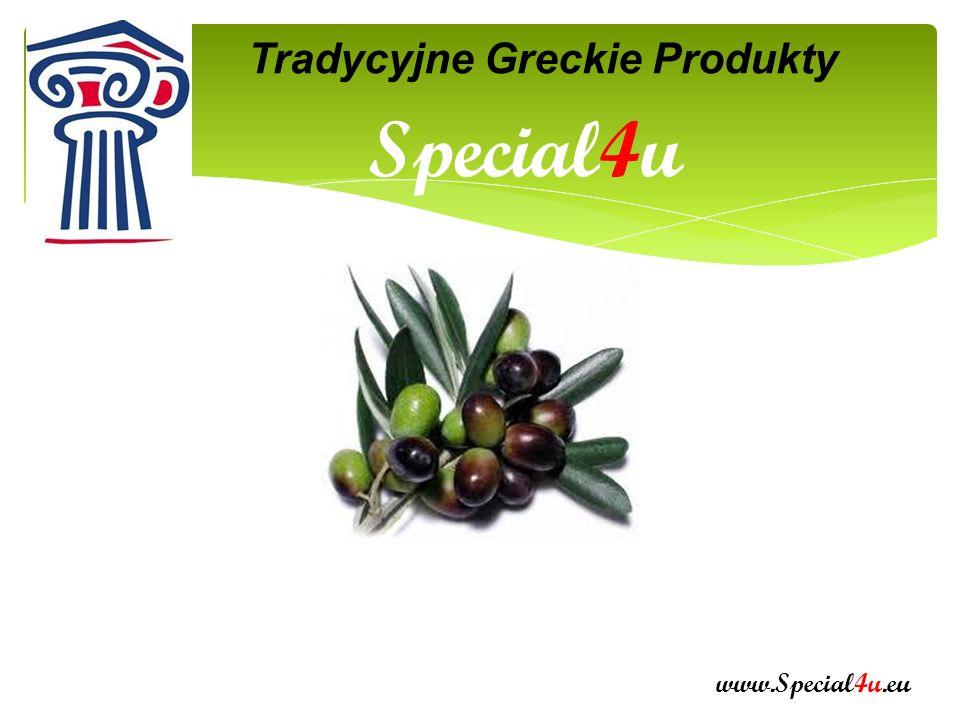 KIM JESTEŚMY www.Special4u.eu Kalamata Grecja W fabryce z wielką dbałością wybierane są najlepsze owoce Produkcja za zimno maszynami najnowszej technologii