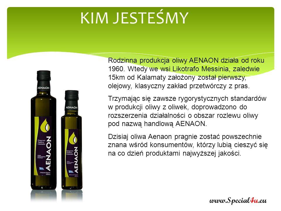 KIM JESTEŚMY Nasza oliwa uzyskiwana jest bezpośrednio z oliwek tylko metodą mechaniczną i wydobywana jest na zimno.