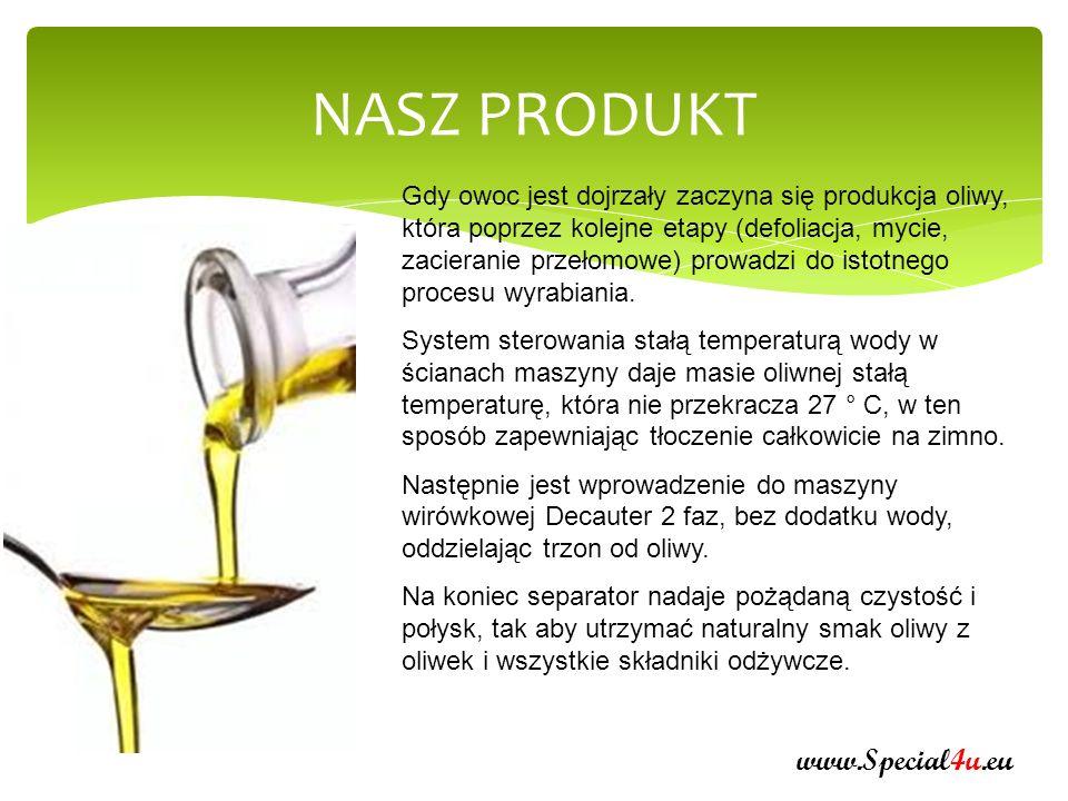 CERTYFIKATY www.Special4u.eu Oliwa AENAON wytwarzana jest według przepisów Wspólnoty Europejskiej z zastosowaniem maszyn najnowszej technologii działających w dobrych warunkach higienicznych, produkują i gwarantują wysokiej jakości oliwę z oliwek.