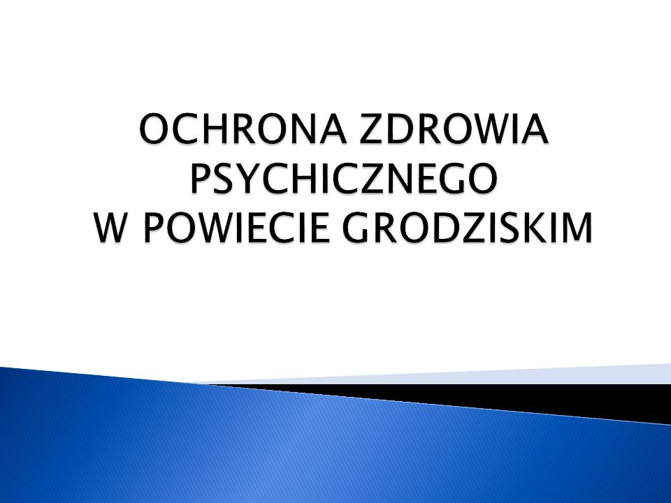 4.Aktywizacja zawodowa osób z zaburzeniami psychicznymi.