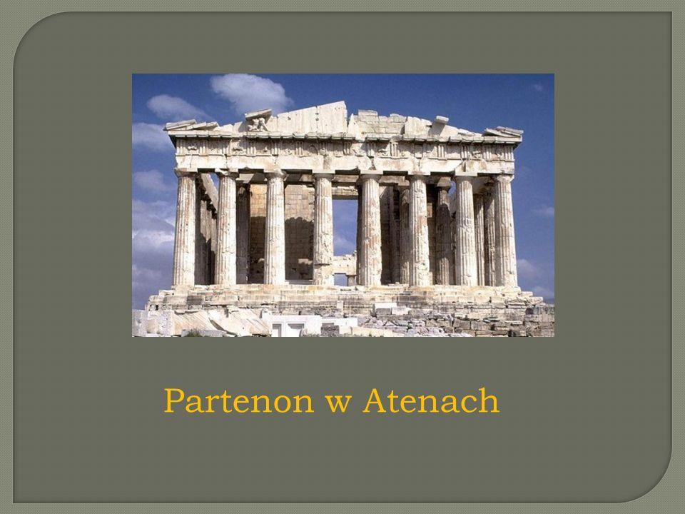 Partenon w Atenach