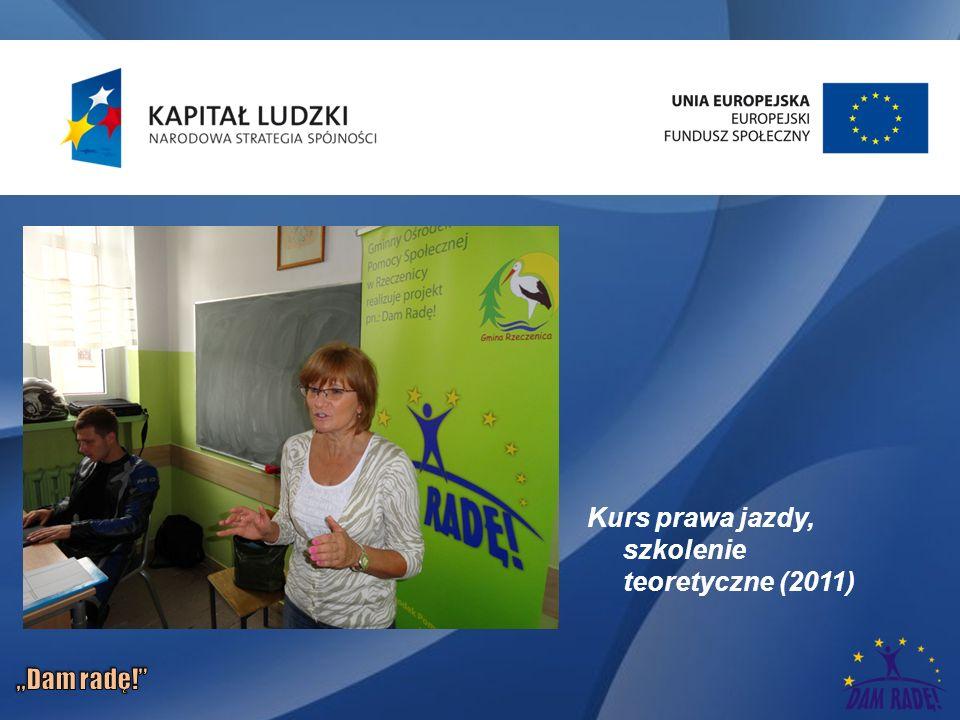 Kurs prawa jazdy, szkolenie teoretyczne (2011)