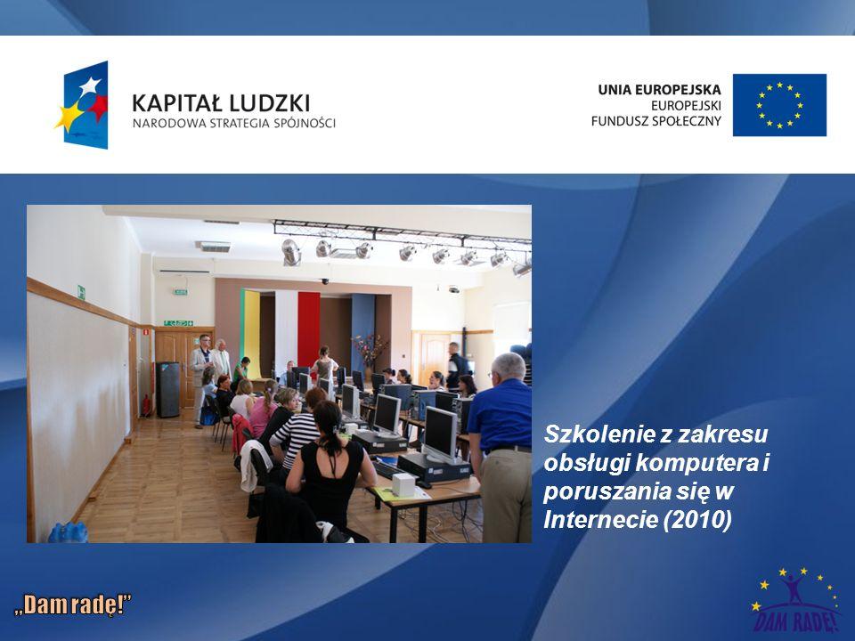 Szkolenie z zakresu obsługi komputera i poruszania się w Internecie (2010)