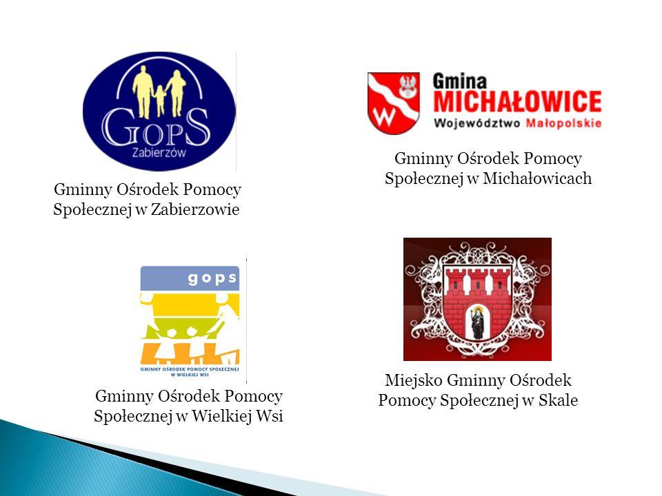 Gminny Ośrodek Pomocy Społecznej w Zabierzowie Gminny Ośrodek Pomocy Społecznej w Michałowicach Miejsko Gminny Ośrodek Pomocy Społecznej w Skale Gminn
