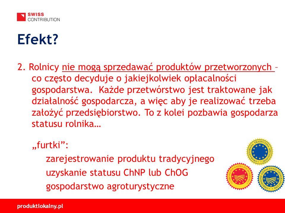 produktlokalny.pl 2. Rolnicy nie mogą sprzedawać produktów przetworzonych – co często decyduje o jakiejkolwiek opłacalności gospodarstwa. Każde przetw
