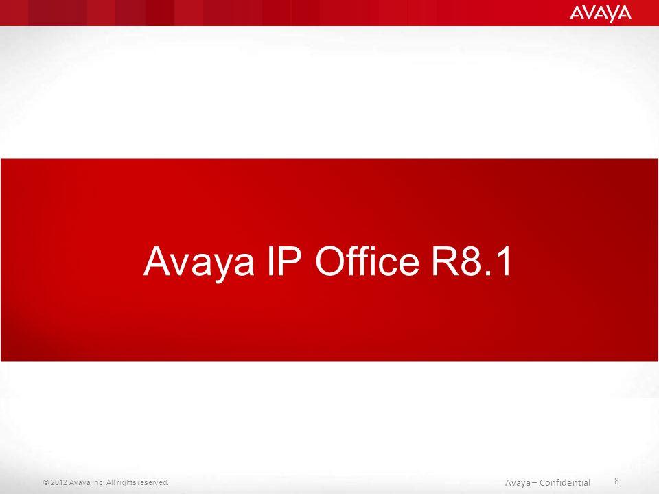 © 2012 Avaya Inc. All rights reserved. 39 Avaya – Confidential Dodatkowe komponenty