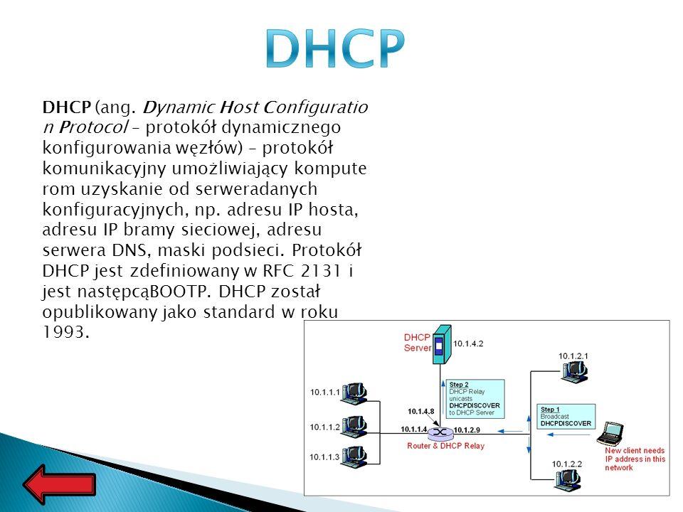DHCP (ang.