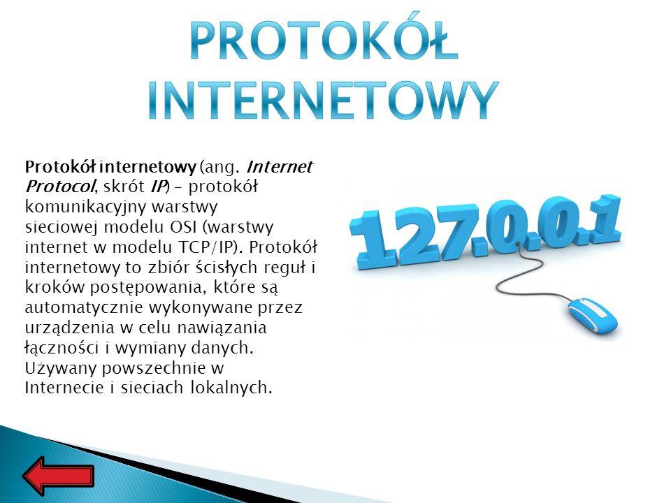 Protokół internetowy (ang.