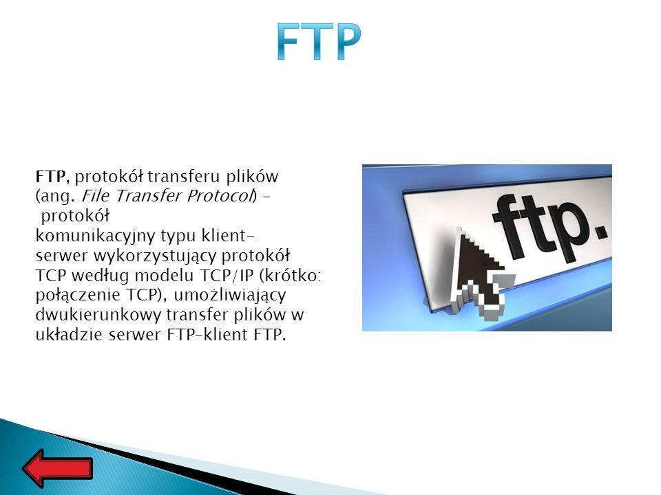 FTP, protokół transferu plików (ang.