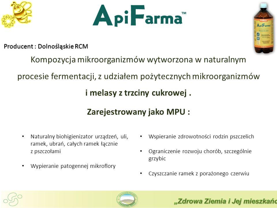 Kompozycja mikroorganizmów wytworzona w naturalnym procesie fermentacji, z udziałem pożytecznych mikroorganizmów i melasy z trzciny cukrowej.