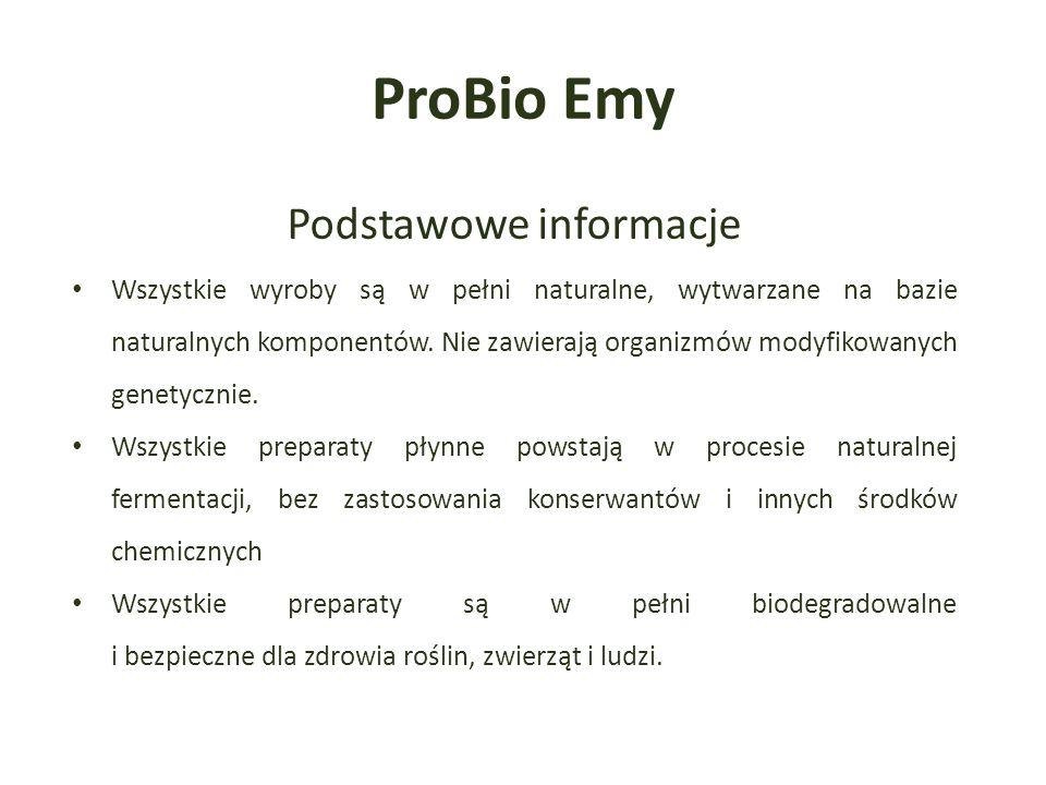Podstawowe informacje Wszystkie wyroby są w pełni naturalne, wytwarzane na bazie naturalnych komponentów.