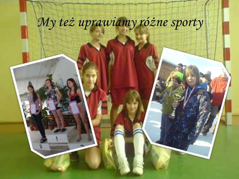My też uprawiamy różne sporty