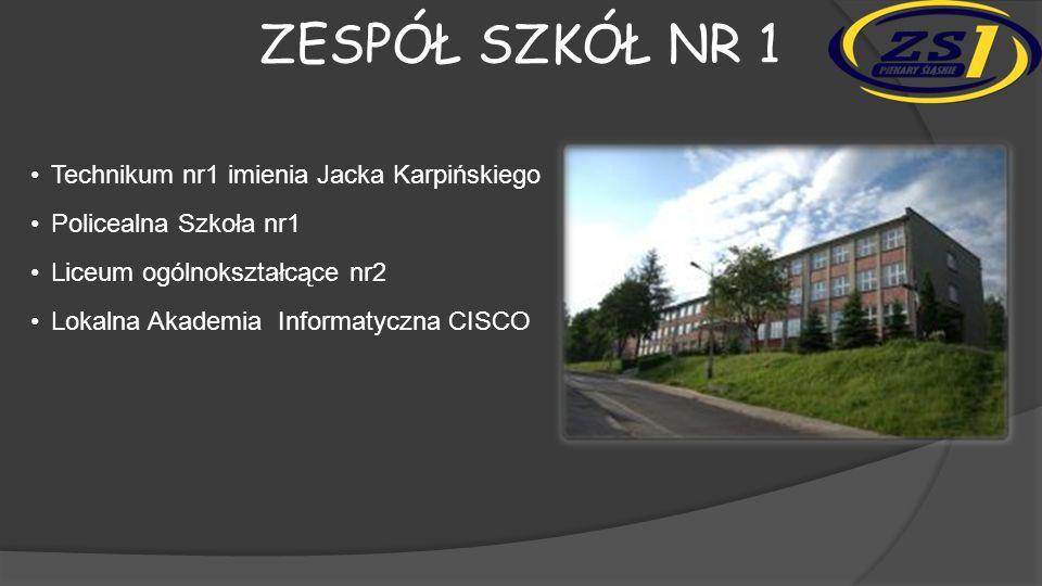ZESPÓŁ SZKÓŁ NR 1 Współpraca szkoły z Politechniką Śląską, zaowocowała tym, że szkoła posiada 3 roboty mobilne HEXOR.