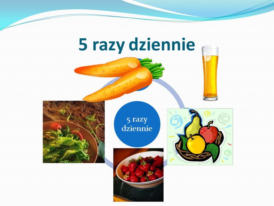 5 razy dziennie marchewjabłko