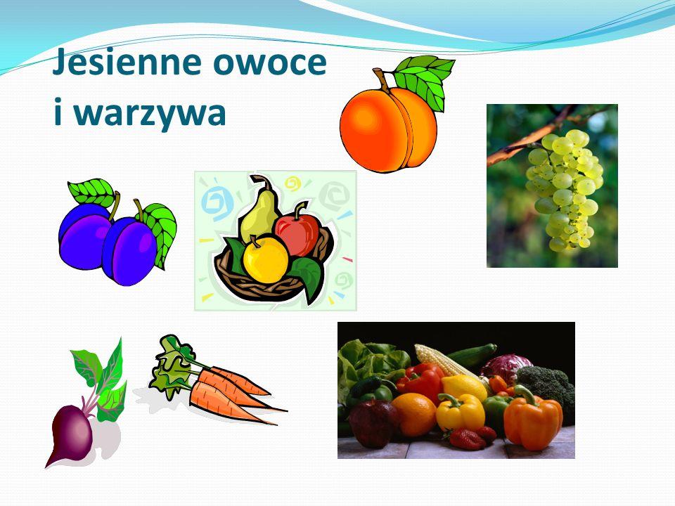 Jesienne owoce i warzywa