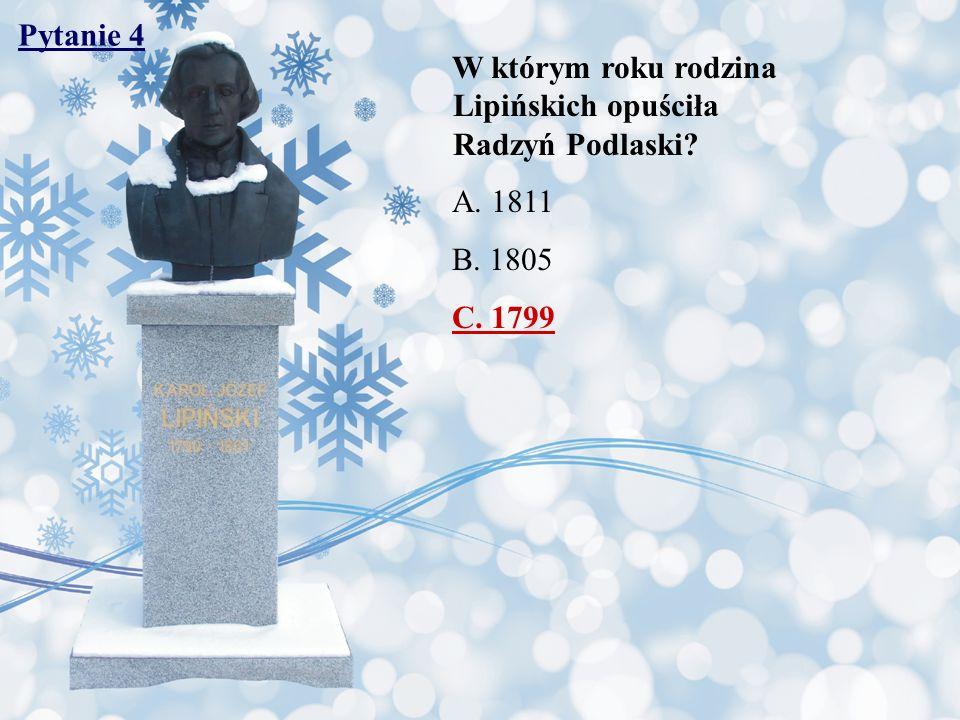 Pytanie 45 W 2005 r.po raz drugi gościł w Radzyniu prof.