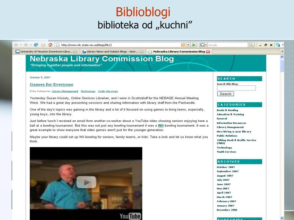 Biblioblogi biblioteka od kuchni