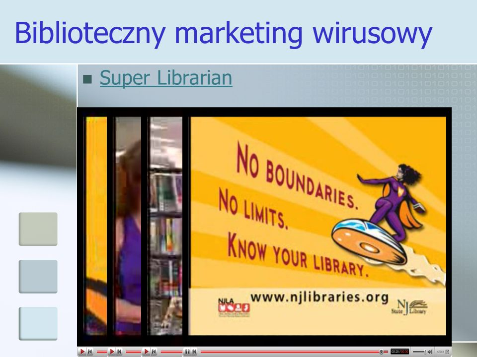 Biblioteczny marketing wirusowy Super Librarian