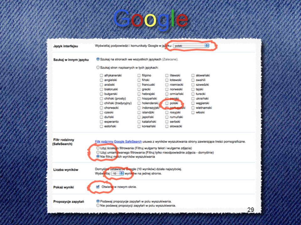 29 GoogleGoogle GoogleGoogle