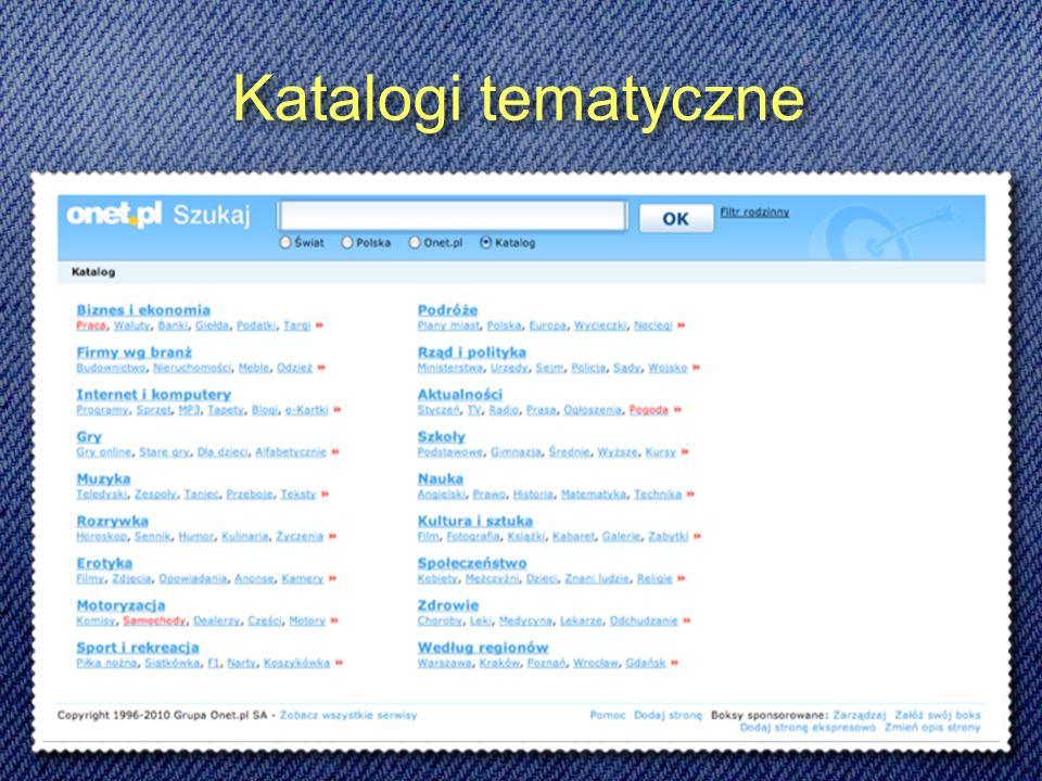 Wyszukiwarki naukowe Oparta o zasoby biblioteki wirtualnej: http://infomine.ucr.edu Wyszukiwarka zasobów naukowych, także płatnych http://ww.scirus.com Wyszukiwarka zasobów naukowych, oparta na mechanizmach i interface Google http://scholar.google.com Oparta o zasoby biblioteki wirtualnej: http://infomine.ucr.edu Wyszukiwarka zasobów naukowych, także płatnych http://ww.scirus.com Wyszukiwarka zasobów naukowych, oparta na mechanizmach i interface Google http://scholar.google.com