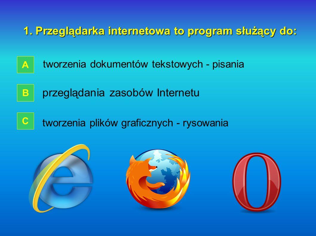 Przeglądarka internetowa Szkoła Przysposabiająca do Pracy przy Zespole Szkół Nr 3 we Włocławku ĆWICZENIA START