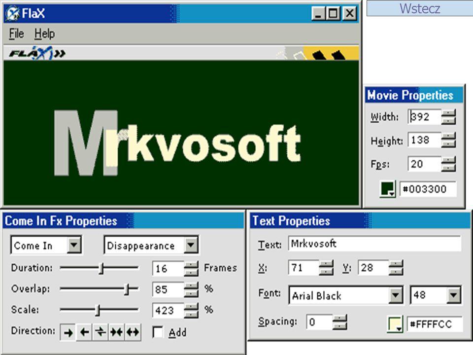ScreenShot 1 GIF Movie Gear Program został stworzony przez firmę Gamani należy do szerokiego grona narzędzi przeznaczonych do tworzenia animowanych Gif-ów na strony WWW.