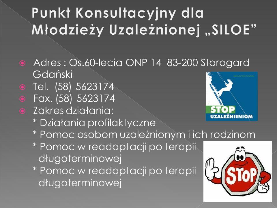 Adres : Aleja Jana Pawła II 6 83-200 Starogard Gdański Tel.