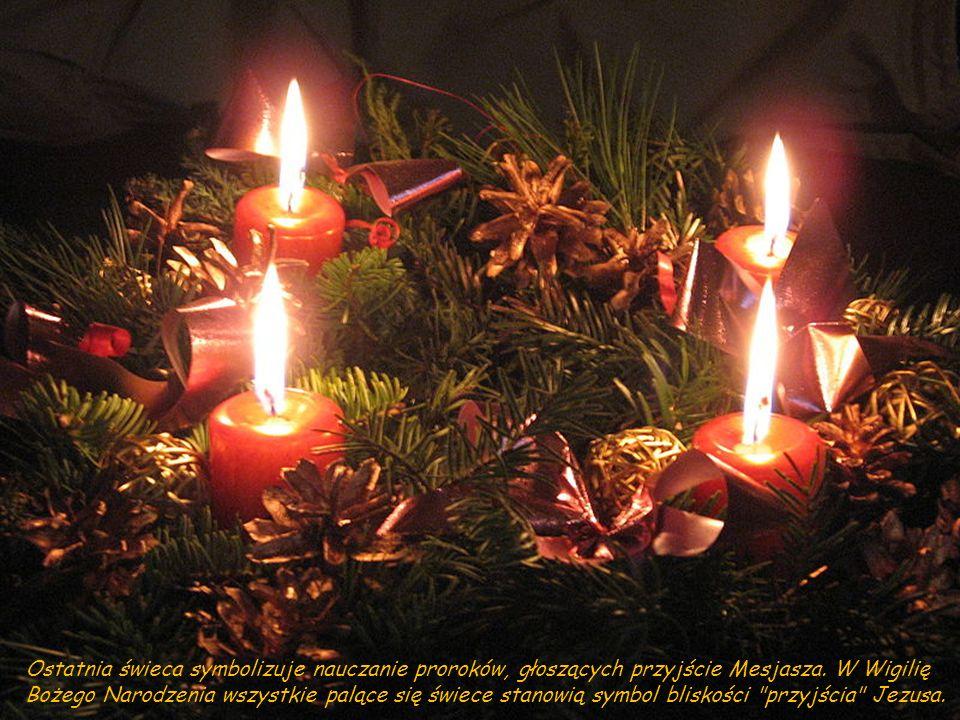 3. z kolei świeca odnosi się do radości króla Dawida, który celebruje przymierze z Bogiem.